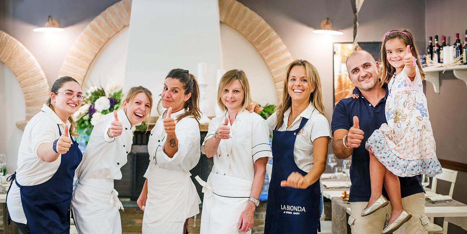 Staff La Bionda